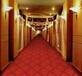 中国红簇绒地毯