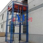 厂家定制云南固定升降货梯,链条式升降平台,导轨升降货梯