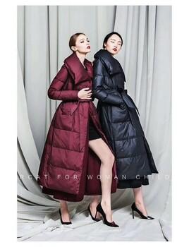 诺蒂莎羽绒服北京大码高端品牌羽绒服折扣尾货女装羽绒服尾货批发