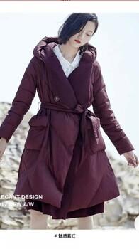 诺蒂莎北京高端品牌羽绒服尾货批发诺蒂莎羽绒服17年专柜同步款女装分份批发