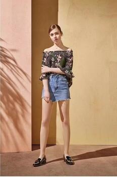 上海昆诗兰女装19年夏装品牌尾货批发折扣女装店进货渠道
