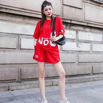QQ公主19年新品莫代尔纯棉套装系列休闲居家尾货女装服饰批发