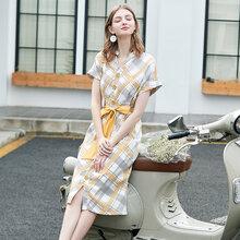 朗姿丽19年夏装当季新款高端汉派品牌女装货源批发