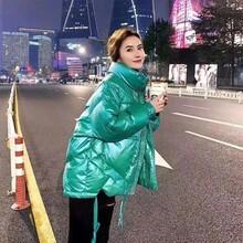 武汉惠品2020年冬季新款羽绒服品牌若纯女装羽绒服尾货特卖图片