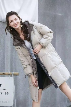哥芙妮女裝2021年冬季羽絨服女裝品牌專柜庫存羽絨服尾貨批發