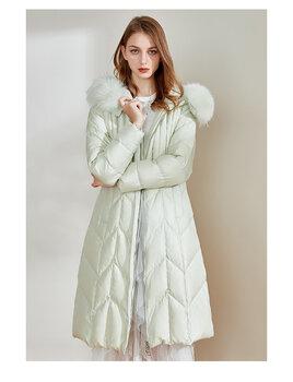 愛美斯女裝2021年冬季羽絨服品牌女裝庫存尾貨貨源批發