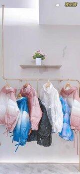 雅麗娜女裝2021年冬季羽絨服庫存品牌女裝尾貨批發