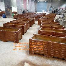四川馳升仿木水泥花箱,仿樹根桌子,GRC仿木平板凳廠家