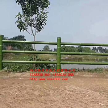 邛崃水泥仿竹栏杆厂家,新都仿竹护栏,双流水泥仿木栏杆厂家