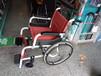 济南轮椅铝合金老人轻便轮椅折叠手动轮椅车免充气带手刹