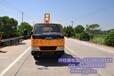 2017款金长江NJJ5061TQX5型防撞护栏抢修车打拔桩机厂家