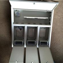 48芯三网合一光纤分线箱楼道分光箱冷轧板三网合一配线箱图片