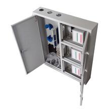 冷轧板96芯三网合一配线箱光纤光缆入户箱光分路器箱产品规格图片