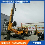 轮式旋挖机新型180度轮式打桩机售后有保障的旋挖钻机图片