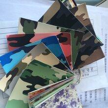 厂家直销pu人造革印彩色迷彩图案箱包手袋鞋材面料电子包裹皮革图片