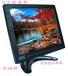 8寸高清工業監視器4比3顯示器VGA/RCA音視頻顯微鏡十字線調試屏