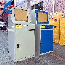 艾锐森供应显示屏电脑柜,钢制电脑柜,铁皮电脑柜图片