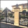 弗洛格别墅实心铸铝庭院门花园门