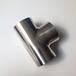 卫生级不锈钢304焊接三通食品级镜面抛光三通异径三通接头Y型