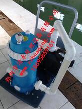 漯河游泳池手动吸污机厂家直销大功率大型游泳池吸污设备