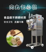 包心鱼丸成型机制作包馅丸子撒尿牛肉丸的设备图片