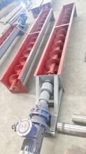 鸡粪螺旋输送机不锈钢管式螺旋输送机实体厂家图片
