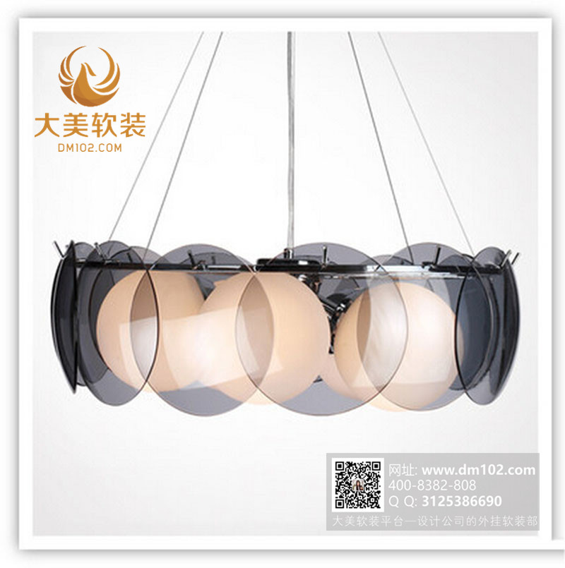 个性创意吊灯创意灯饰国外创意灯具玻璃灯具现代后现代风格