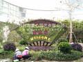 五色草草雕制作施工找景心园艺图片