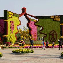 仿真植物造型仿真绢花造型大型仿真绿雕仿真植物墙水泥雕塑大型灯展