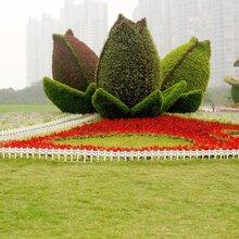 仿真绿雕仿真景观造型绢花造型水泥雕塑适用广泛造型新颖
