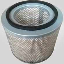 木浆纸材质菱形网双螺杆空压机空气滤清器除尘滤芯图片