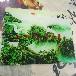 瓷磚背景墻打印機,瓷磚平板打印機,浮雕瓷磚打印機