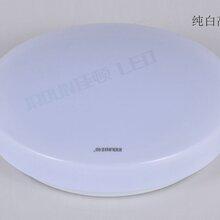 厂家直销吸顶灯圆形24W纯白高边直径400现代简约卧室灯