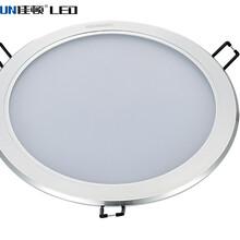 厂家直销led超薄筒灯2.5寸3寸4寸5寸6寸高光吸顶筒灯