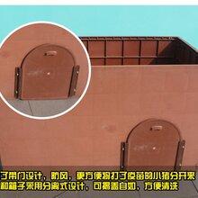河北泊头厂家直销红色塑料保温箱黑色加厚塑料保温箱复合保温箱小猪用保温设备