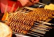 学习油炸烧烤技术,温州金正小吃培训油炸烧烤,油炸泡泡的做法,诸葛烤鱼技术培训