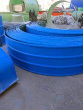 皮带机玻璃钢防雨罩尺寸齐全胶带机防尘罩厂家图片