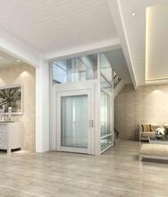设计雅致三层别墅小型电梯框架一体小型别墅电梯