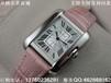精仿卡地亚手表坦克系列自动机械方形女表真皮表带女士手表