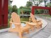 简约户外咖啡厅塑木桌椅沙滩泳池桌椅组合