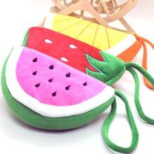创意手拎零钱包仿真西瓜水果型零钱包订制婚庆礼品女士手拎包图片