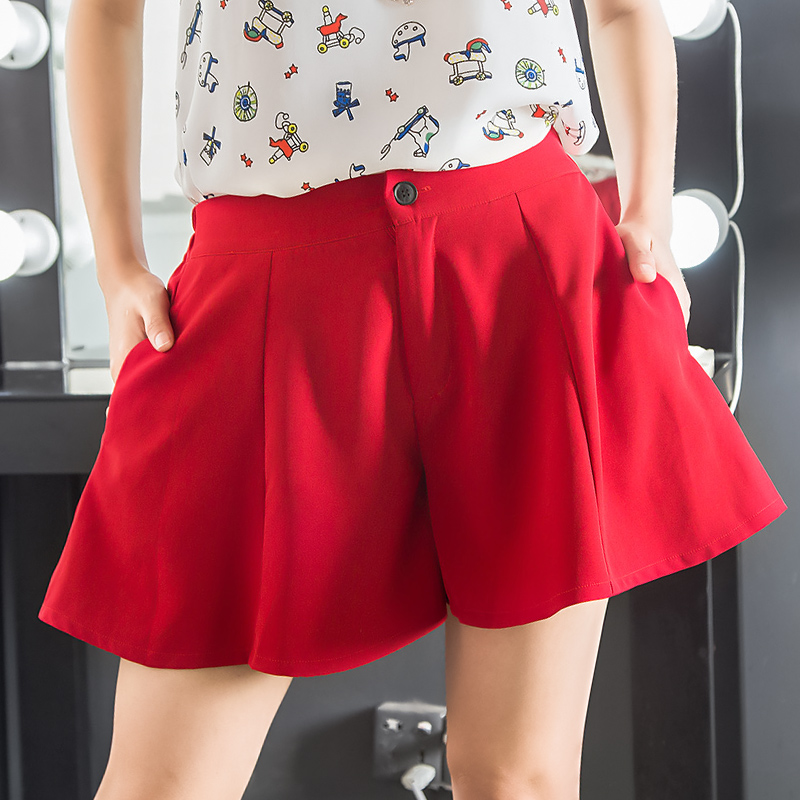 夏季女装新款短裤女宽松韩版女裤休闲短裤阔腿裤爆款女KZ60102