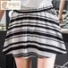韩版实拍女装2016新款条纹印花韩国半身裙防走光女士短裙