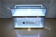 新款苹果土豪金喷砂超白波手机柜台收银台维修台体验台配件柜厂家直销