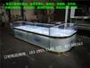 上海订做木质高档时尚相机剃须刀电子产品玻璃展示柜台闸北销售柜厂家直销定制
