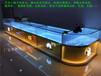 青海定做新款华为3.0手机柜台苹果三星配件柜海北手机不锈钢体验台小米oppo展示柜台桌
