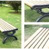 塑木公园休闲椅