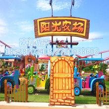 儿童游乐设备阳光农场嘉信厂家上门安装安全可靠客户信赖