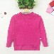 童装毛衣空调衫V字领白色157-157cm热销小童装小童毛衣
