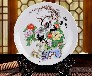 陶瓷盘工艺品设计